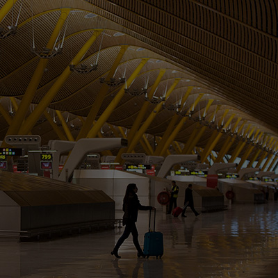 Madrid-Barajas Adolfo Suárez Airport is located just 35 minutes from the hotel.